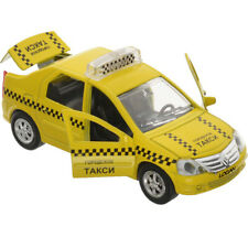 Diecast Vehicles Scale 1:36 Renault Logan Russian Taxi Model Car