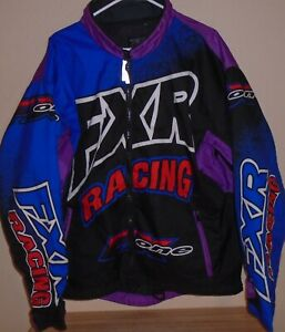 vintage FXR FX One snowmobile jacket Large