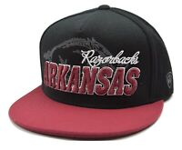 Arkansas Razorbacks TOW Sublime NCAA College Strapback Flat Bill  Cap Hat