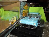 1957 CHEVY BELAIR street machine rumbler american muscle 1/18 lights / sounds 57