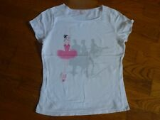 T-SHIRT BLANC REPETTO / MARESE 16 ANS