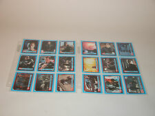 TERMINATOR 2 JUDGMENT DAY STICKERS 1-44 TOPPS 1991 NEAR MINT