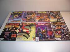 8 DC COMIC BOOKS - HAWKMAN - SERIES 2 1987 & 3 1994/95