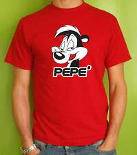 t-shirt PEPE' LE PEW LOONEY TUNES BUGS BUNNY DUFFY DUCK