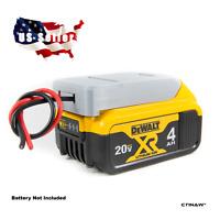 **Dewalt 20V  Li-ion Battery Adapter RC Robotics Power Output Connector DIY**