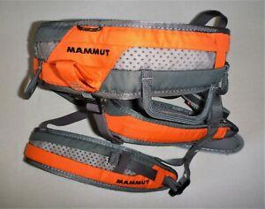 Rock climbing, mountaineering, Mammut sit harness size M