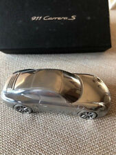 Authentic PORSCHE CARRERA S  LIMITED EDITION  ALUMINUM  MODEL CAR