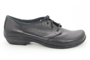 VINTAGE Dansko Olive Nappa Oxford Lace Up  Black  Women's Size EU 40 ()