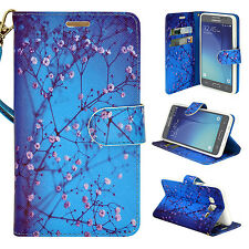 2X PU Leather Wallet Case Cover For Samsung Galaxy On5 SM-G550 (BOGO SALE)