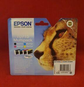Epson - T0715 - Multipack Ink Cartridges - C13T07154012