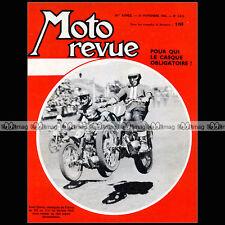 MOTO REVUE N°1615 PUCH GEIL VINCENT CLERICI TRIUMPH CASTROL ROCKET TIBBLIN 1962