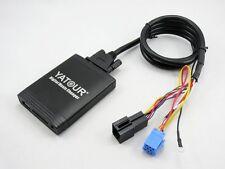 USB Sd Adaptador de Entrada Aux MP3 8 Pines Cambiador CD VW Gama Mfd Alpha Beta