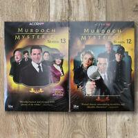 Murdoch Mysteries Season 12 & Season 13 DVD Fast shipping Free USPS First Class