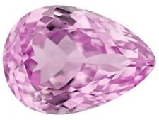 KUNZITE 8 x 6 MM PEAR CUT NATURAL AND UNTREATED