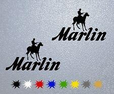 STICKER PEGATINA DECAL VINYL AUTOCOLLANT AUFKLEBER Marlin Arms