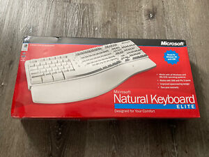 Microsoft Natural Keyboard Elite A11-00337 [New/Sealed] (Windows 98) Vintage PC