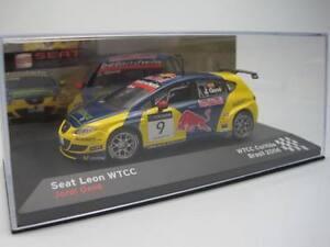 Seat Sport Leon WTCC 2006 Brazil Jordi Gene IXO 1/43 cochesaescala