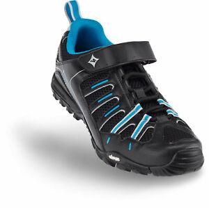 Specialized Women's Tahoe Sport MTB Shoe EU 37 US 6.5 Black/Blue Brand New