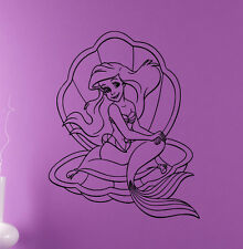 Disney Princess Ariel Vinyl Decal Mermaid Vinyl Sticker Cartoon Home Interior 7
