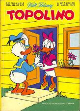 [749] TOPOLINO ed. Mondadori 1974 n.  957 stato Ottimo