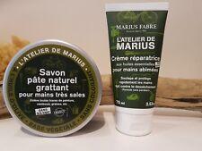 Marius Fabre Exfoliating Grime Removing Savon Pate Naturel + Skin Repair Cream