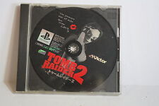 No Manual Tomb Raider II 2 PS PlayStation 1 PS1 PSX Fair Japan Import