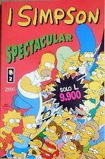 FUMETTO SIMPSON SPECTACULAR N,2 ZELIG EDITORE SUPPLEMENTO LINUS 1999
