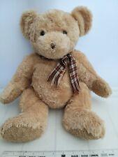 More details for teddy bear hermann gmbh hirschald germany plush honey colour beanie 30cm sitting