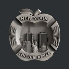 3d STL models for CNC, Artcam, Aspire, New York