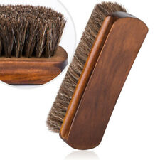 Horse Hair Shoe Brushes Polish Dauber Boots For Shoes Care Polishing Durable