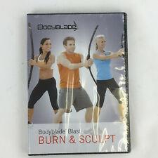 Bodyblade Blast Burn & Sculpt Workout Dvd 76 min 2012 New fitness exercise