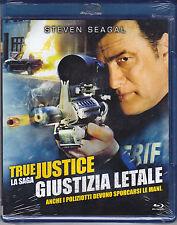 Blu-ray **TRUE JUSTICE ♦ GIUSTIZIA LETALE** con Steven Seagal nuovo 2011