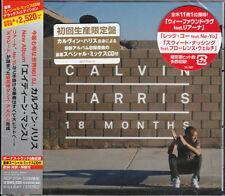 CALVIN HARRIS-18 MONTH-JAPAN 2 CD BONUS TRACK F30