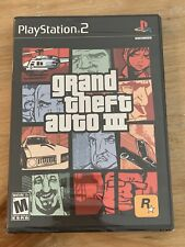 Grand Theft Auto Iii Sony PlayStation 2 Ps2 New Sealed NrMt Trilogy Version