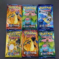 Lot de 2 Boosters Pokémon Evolutions XY - 10 Cartes - Cartes Rares et Brillantes