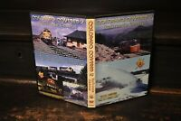 Colorado Rocky Mountains Moffat Ski Train UP D&RGW BN SP short line railroad DVD