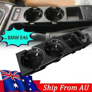For BMW E46 3Series 99-06 Front Center Console Drink Cup Holder Storing Coin Box