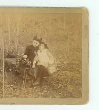B2872 Price view of Two Children in the Woods, St Marys & Kersey Pennsylvania D