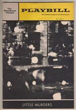 """""""Little Murders""""  Playbill 1967  Barbara Cook & Elliott Gould  Broadway"""