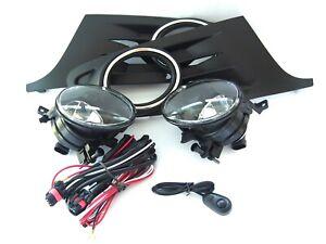 for VW Jetta Sportwagen Golf MK6 2010-2012 BUMPER LOWER GRILLE GRILL & FOG LIGHT