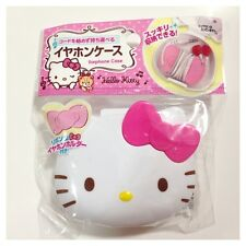 SANRIO / HELLO KITTY FACE EARPHONES CASE Lovely Cute Music Smartphone iPhone