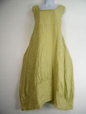 Vestiti da donna verdi lino
