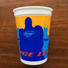 DC Justice League  Animated JLU Birthday Plastic Party cup 17 fl oz New Sealed