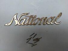 ORIGINAL NCR NATIONAL CASH REGISTER DRAWER SCRIPT