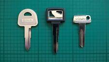 Japanese Classic Motorcycle Keys Cut To Code. Honda, Kawasaki, Suzuki, Yamaha.