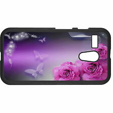 Roses And Butterflies Hard Case Cover For Various Mobile