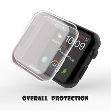 For Apple Watch Series 4 Ultra Thin Clear Protective Case Cover 40mm/44mm