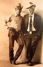 LEE MARVIN & PAUL NEWMAN western photo B&W cowboy clipping Pocket Money 1972
