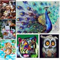 Animals DIY 5D Diamond Painting Embroidery Cross Crafts Stitch Kit Home Decor