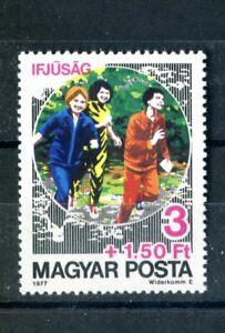 HUNGARY 1977 Sports Running set/single MNH (A-805)
